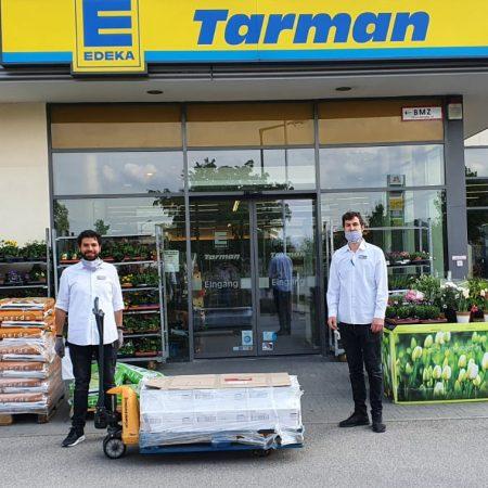 Spende von EDEKA Tarman in Aschheim 💕