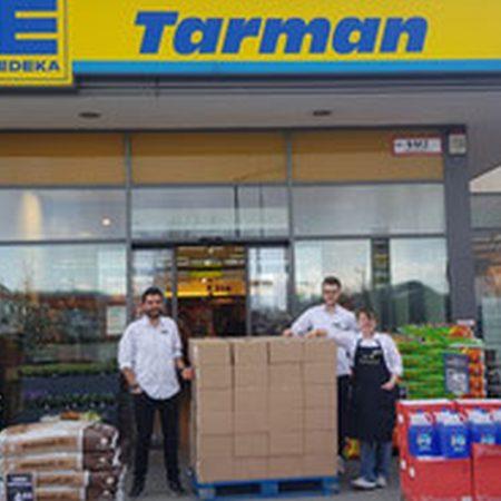 Spende vom Edeka Tarman