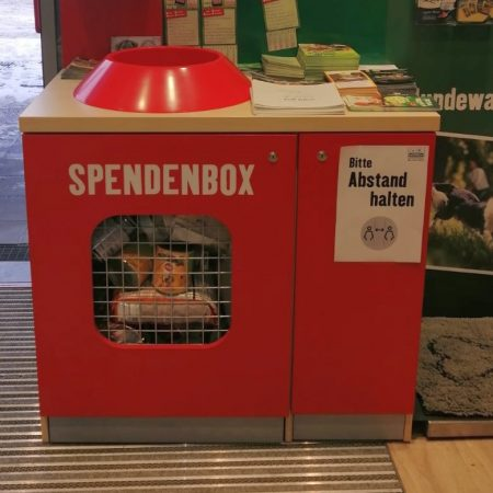 Fressnapf Spendenbox 07.01.2021